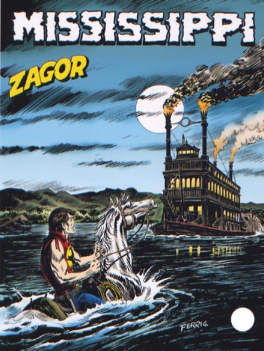 Mississippi, storia di Zagor