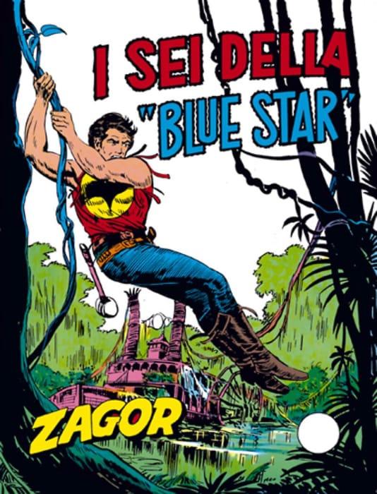 I sei della Blue Star, avventura di Zagor