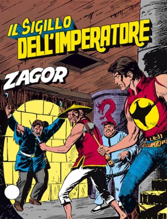 Il sigillo dell'imperatore, avventura di Zagor