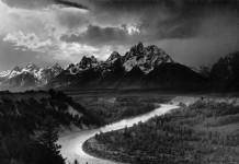 The Tetons and the Snake River, forse la più celebre tra le foto di Ansel Adams