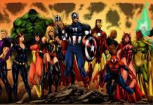 Gli Avengers, ovvero i Vendicatori, e alcuni dei membri più famosi