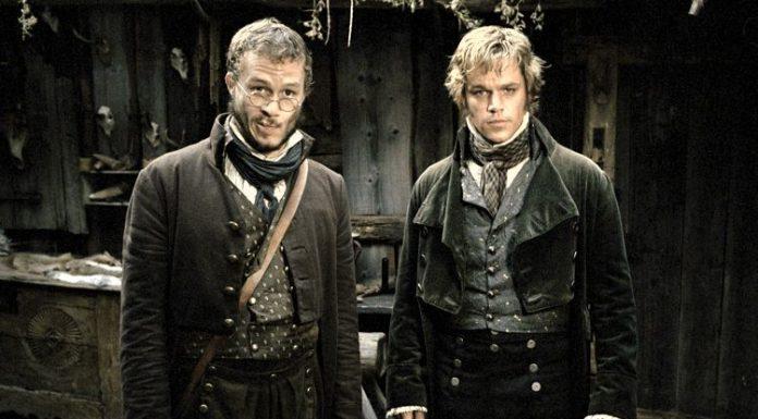 Scopriamo le fiabe dei fratelli Grimm, qui ritratti da Heath Ledger e Matt Damon