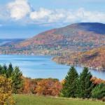 Panorama dei Finger Lakes