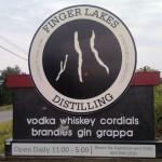 Una delle molte distillerie della zona