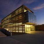 Il Peres Center for Peace di sera