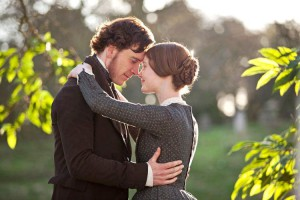 Jane Eyre e Rochester nella versione cinematografica del 2011