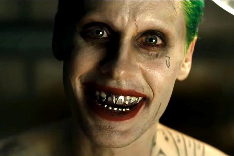 Jared Leto coi capelli verdi in Suicide Squad, in cui interpretava Joker