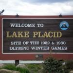 L'ingresso ai complessi sciistici di Lake Placid