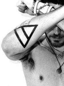 Alcuni dei tatuaggi del leader dei 30 Seconds to Mars