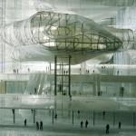 Il progetto originario per il Nuovo Centro Congressi di Fuksas