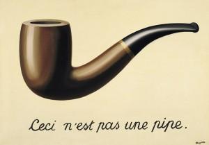 Il tradimento delle immagini di René Magritte, meglio noto come Questa non è una pipa