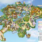 La mappa di Rainbow Magicland