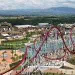 Il roller coaster Shock di Rainbow Magicland