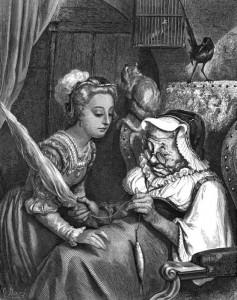 Rosaspina, protagonista di una delle più famose fiabe dei fratelli Grimm, prima di essere punta