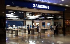 Un negozio Samsung nelle Filippine