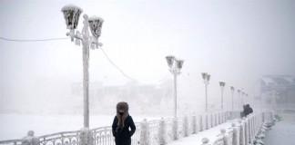 Le strade di Ojmjakon, la città più fredda del pianeta