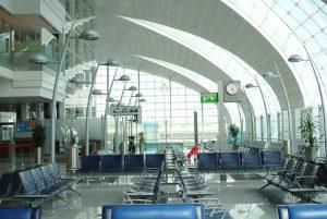Uno dei terminal dell'aeroporto internazionale di Dubai