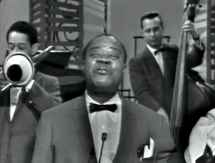 Louis Armstrong alla televisione