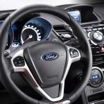 Gli interni della Ford Fiesta ST