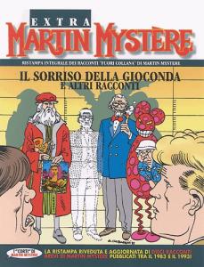 La riedizione de Il sorriso della Gioconda, storia di Martin Mystère