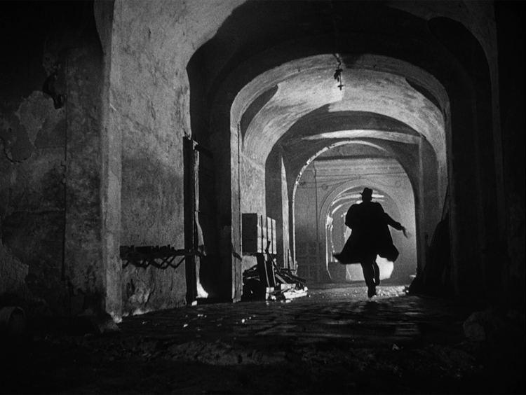 Una scena de Il terzo uomo, uno dei più famosi e belli film noir