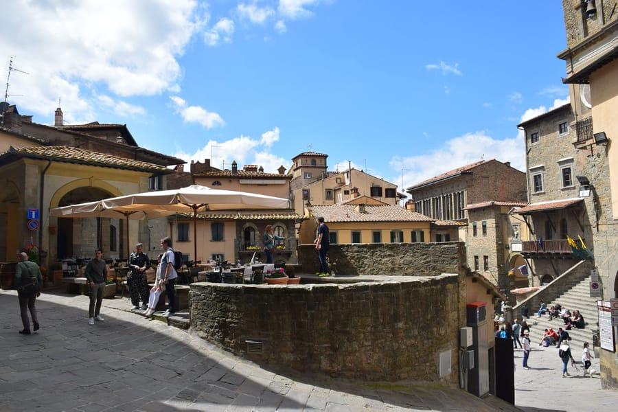Un bello scorcio di Cortona