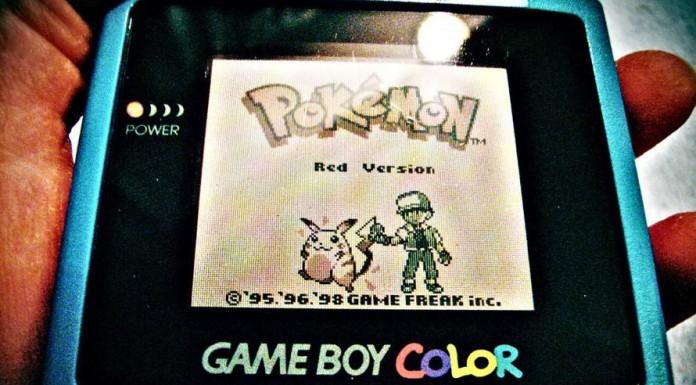 Pokémon Rosso su GameBoy Color