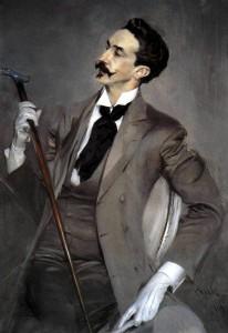 Il ritratto di Robert de Montesquiou