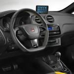 Gli interni della Seat Ibiza Cupra