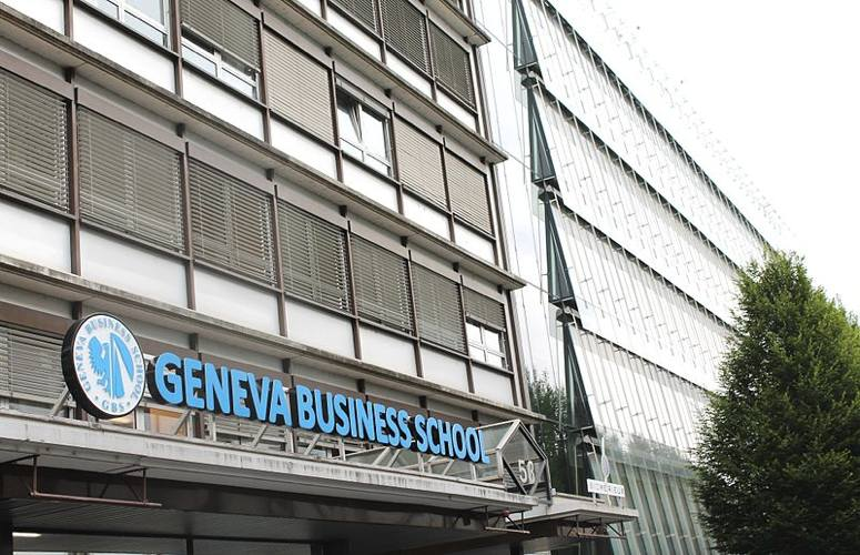 La prestigiosa Business School di Ginevra (foto della Geneva Business School)