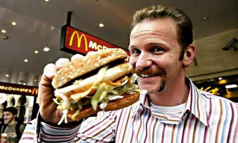 Una scena di Super Size Me, uno dei più famosi documentari sul cibo