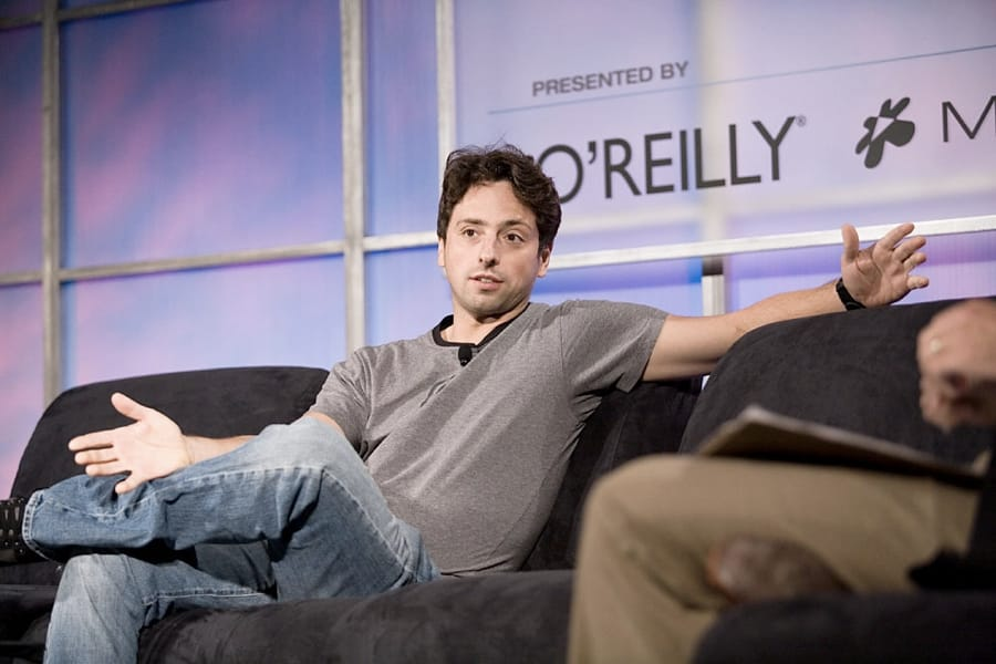 Sergey Brin (foto di James Duncan Davidson/O'Reilly Media, Inc. via Flickr)