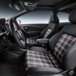 Gli interni della Volkswagen Polo GTI