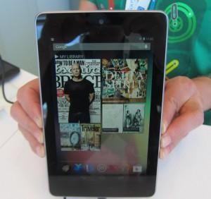 Il Nexus 7, uno dei tablet Android più venduti