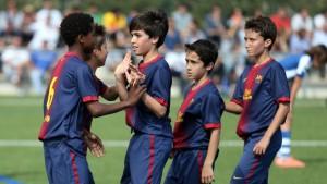 I giovani della cantera del Barcellona