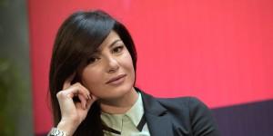 Ilaria D'Amico, forse la più famosa giornalista sportiva italiana