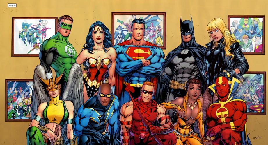 La Justice League in una delle sue più recenti incarnazioni