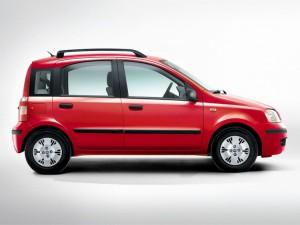 La Fiat Panda in una delle sue rivisitazioni più recenti
