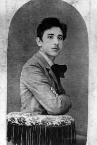 Luigi Pirandello in gioventù