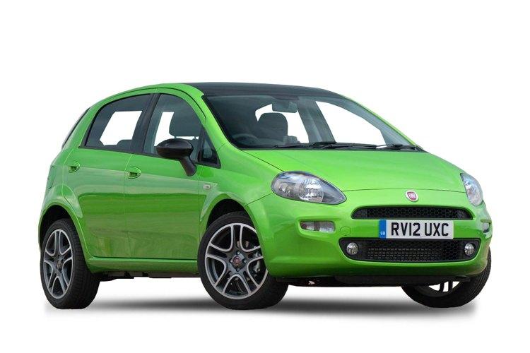 La Fiat Punto, uno dei modelli più venduti degli ultimi anni