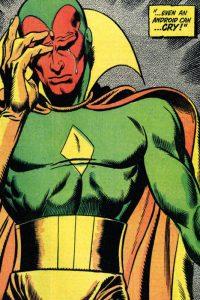Visione, androide della Marvel
