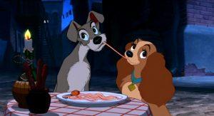 Lilli e il vagabondo e lo spaghetto