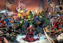 Trinity War, un recente arco narrativo che ha visto scontrarsi vari supergruppi della DC Comics