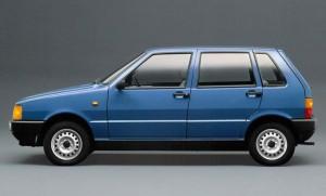 La Fiat Uno nella sua configurazione storica