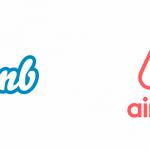 L'evoluzione del logo di Airbnb