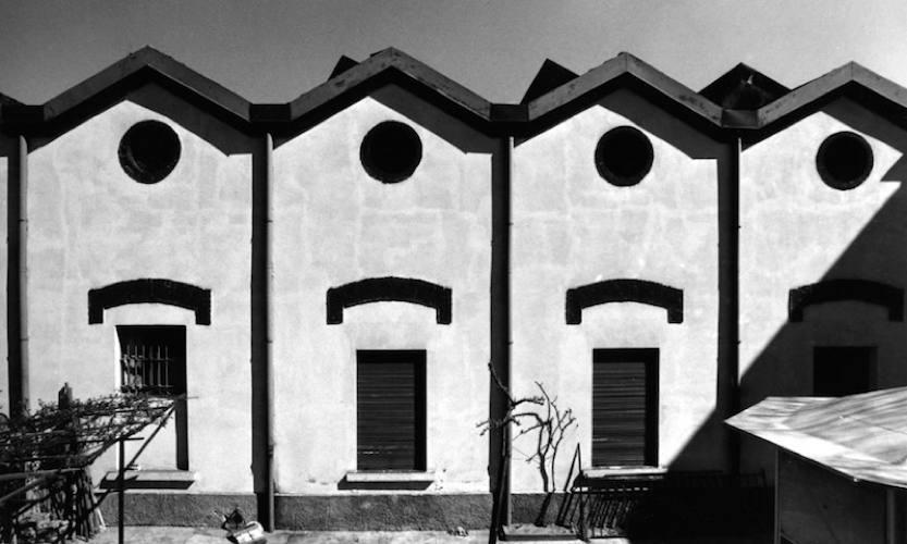 """Immagine della serie """"Ritratti di fabbriche 1978-1980"""" di Gabriele Basilico"""