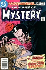 Numero del 1981 di House of Mystery con Andrew Bennett