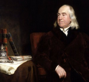 Jeremy Bentham, padre dell'utilitarismo