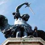 L'angelo con la spada a Castel Sant'Angelo