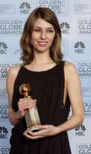 Sofia Coppola durante una premiazione